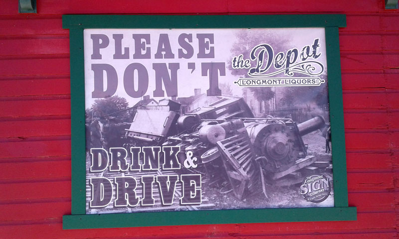 Charmant Anderson RV Storage. Drink And Drive Banner